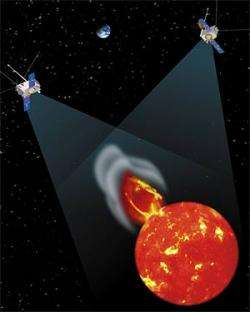 The twin STEREO spacecraft