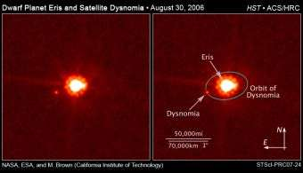 Astronomers Measure Mass of Largest Dwarf Planet
