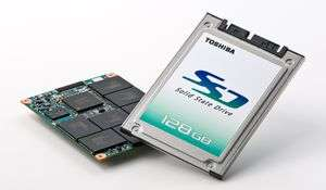 Toshiba Launches High Performance Solid State Drives With MLC NAND Flash Memory