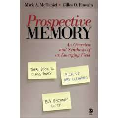 Book explores our ability to remember future intentions
