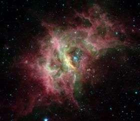 Circumstellar space: Where chemistry happens for the very first time