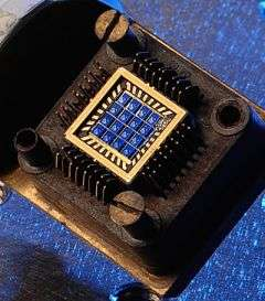 Closeup of UD Spin Chip