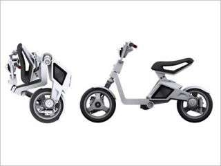 Cuter scooter defined by electricity, portability