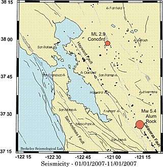 Early warning system predicted shaking from Oct. 30 quake