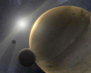 Gas giants jump into planet formation early