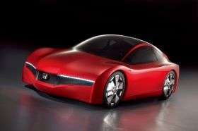 Honda Unveils 'Small Hybrid Sports Concept'