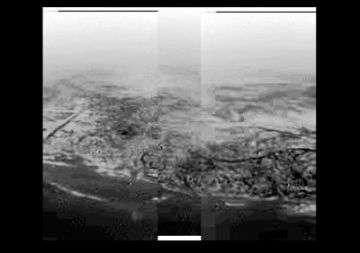 Huygens' view of Titan