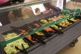 Kids eat more fruits, vegetables when schools offer salad bar