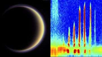 Organic 'building blocks' discovered in Titan's atmosphere