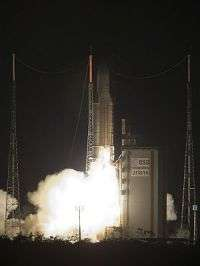 Successful Ariane 5 upper-stage engine re-ignition experiment