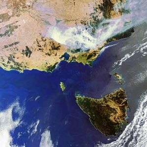 Transcontinental wildfire emissions monitored from space