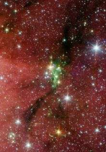Two Telescopes Combine to Probe Young 'Family' of Stars