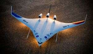 X-48B Blended Wing Body Aircraft