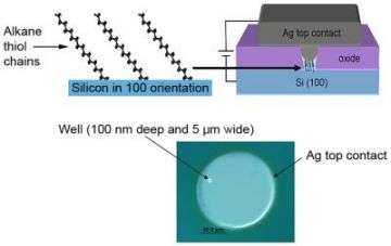 Researchers Prove Bridge from Conventional to Molecular Electronics Possible