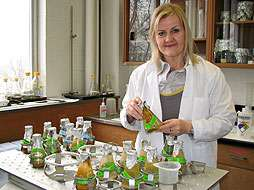 Researcher studies drug-resistant bacteria in environment