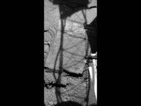 Phoenix Mars Lander Extending Trench