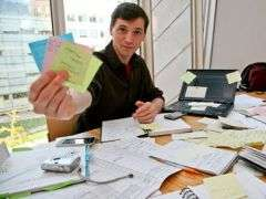 Digging out from piles of sticky notes: Computer scientists devise ways to organize details of everyday life