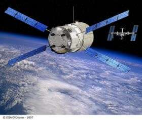 Follow live Jules Verne ATV's first attempt to dock with the International Space Station
