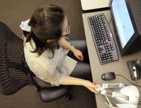 Interactive technology could help students feel what can't be seen
