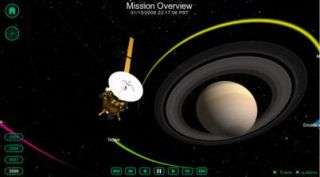 Journey to Saturn From Your Computer