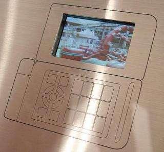 KDDI&acutes Prototype 3D LCD Display
