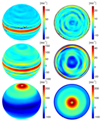 Moist Convection Can Drive Jet Streams on All Four Giant Planets