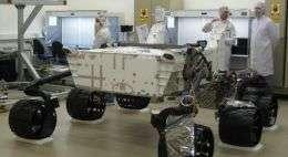 NASA Invites Students to Name New Mars Rover