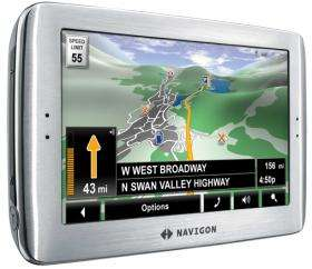 Navigon 8100T GPS with 3D Panorama View