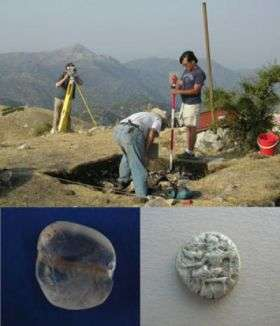 New discoveries at the ash altar Of Zeus -- Mount Lykaion