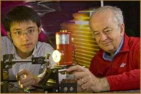 Scientists demonstrate highly directional semiconductor lasers