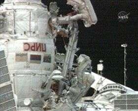 Station Crew Begins Spacewalk to Retrieve Soyuz Pyro Bolt