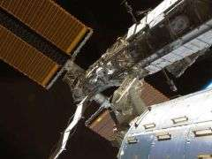 STS-126 ISS Starboard Section