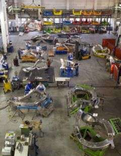The world's largest fusion experiment of the stellarator type taking shape