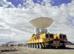 ALMA telescope takes another step forwards -- and upwards
