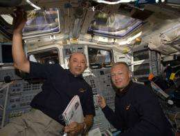 Astronauts Move Japanese Exposed Section to Station