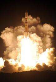 Japan's H-2B rocket launches from the Tanegashima Space Center