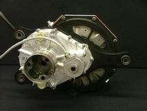 Lightweight electric motor on track