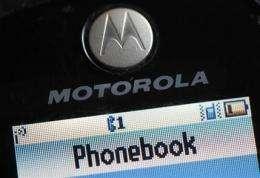 Motorola posts unexpected 2Q profit (AP)