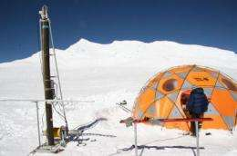 Newly drilled ice cores may be the longest taken from the Andes