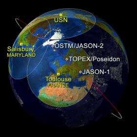 Satellites Capture Sea Surface Heights Around the World