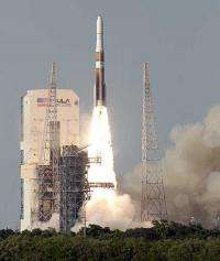 Sophisticated weather satellite rockets into orbit