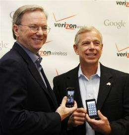 Verizon Wireless, Google to hunker down on phones (AP)