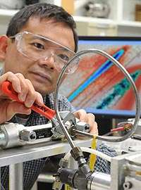 Scientists reveal interaction between supersonic fuel spray and its shock wave