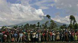 Scientist says volcanic eruption in Congo imminent (AP)