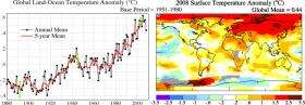 2008 Was Earth's Coolest Year Since 2000