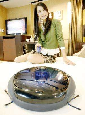 Samsung launches a new vacuuming robot