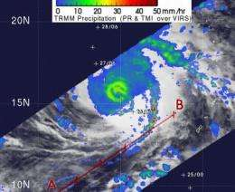 Super Typhoon Nida to pass east of Iwo To and Chichi Jima