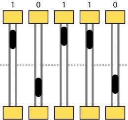 A billion-year ultra-dense memory chip