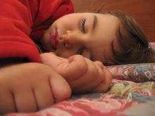 A child sleeping (Sleep)