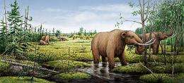 After mastodons and mammoths, a transformed landscape